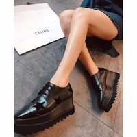 Celine STELL McC RTNEY Star Shoes Collection Classic Women's Shoes all star black