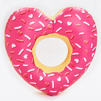 BigMouth Heart Donut Pool Float , Multi