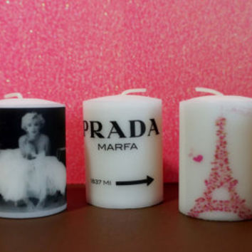 5 VOTIVE candles ANY STYLE