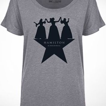 Hamilton Dancing Ladies T-Shirt - Apparel