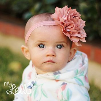 Baby Large Petal Flower Headband