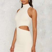 Nasty Gal By My Side Cutout Dress