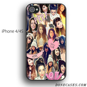 zoella collage case for iPhone 4[S]