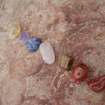Chakra Rocks for Healing, Grounding and Balancing the Energetic, Physical Body
