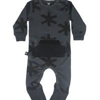 OOVY Kids | Charcoal Rebel Baby Romper