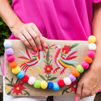 Birds Of Paradise Clutch, Natural