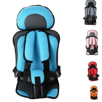 0-5 Year Baby Safe Seat Mat Portable Baby Toddler Simple Car Safety Seat Baby Chairs Thicken Sponge Kids Car Stroller Seats Pad