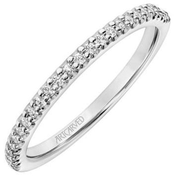 "Artcarved ""Lorelei"" Prong Set Classic Straight Diamond Wedding Ring"