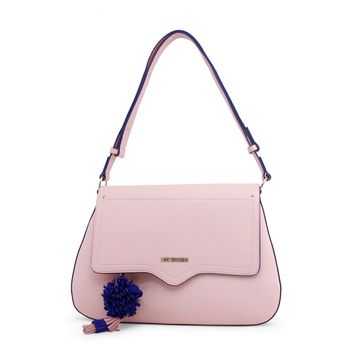 Love Moschino Pink Leather Shoulder Bag