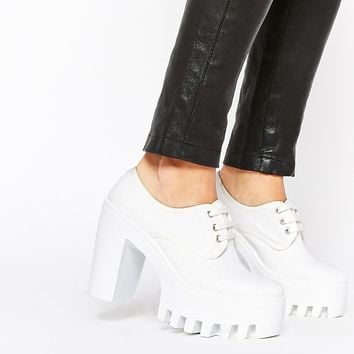 ASOS OVERBOARD Lace Up Shoes