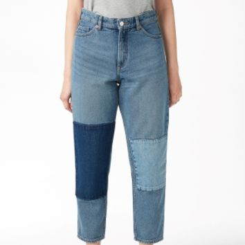 Monki | Jeans | Taiki blue patch