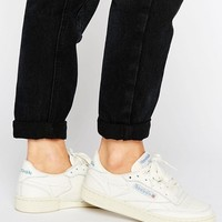 Reebok Club C 85 White Vintage Court Sneaker at asos.com