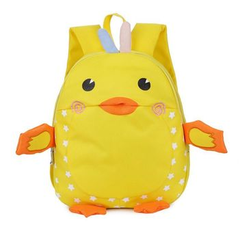 New Cute Kids Bags Cartoon Duck Designer Baby Backpacks Toy Bags Kindergarten Children Boy Girl School Backpacks Mochila Escolar