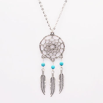 New Fashion  jewelry Dream catcher pendant necklace
