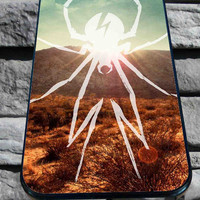 My Chemical Romance Spider Logo for iPhone 4/4s, iPhone 5/5S/5C/6, Samsung S3/S4/S5 Unique Case *76*
