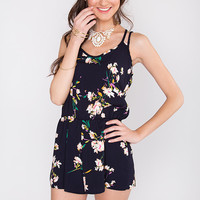 Your Addiction Playsuit - Navy