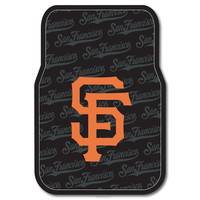 San Francisco Giants MLB Car Front Floor Mats (2 Front) (17x25)