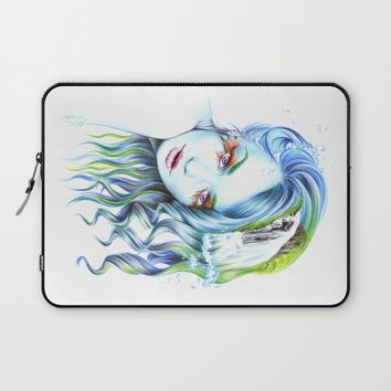 Water Laptop Sleeve by EDrawings38