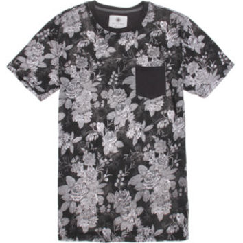On The Byas Reuben Floral Print Crew T-Shirt at PacSun.com