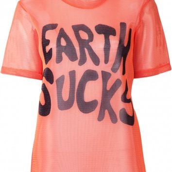 ØDD. | Earth Sucks T-Shirt - Jeremy Scott - Womens Brands