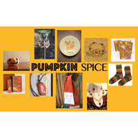 Etsy Finds in Pumpkin Spice