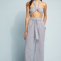 Mara Hoffman Pinstriped Wide-Leg Pants