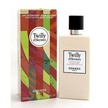 Twilly d'Hermes Moisturizing Body Lotion by Hermes 6.5 oz. for Women