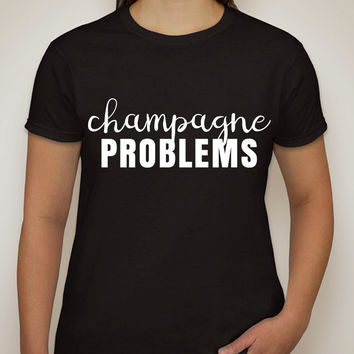 "Nick Jonas ""Champagne Problems"" T-Shirt"