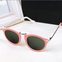 Cute Cat Eye Sunglasses with Arrow Legs