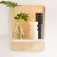 Regan Rectangle Wooden Shelf | Urban Outfitters