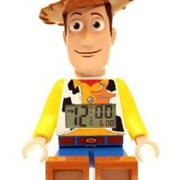 LEGO Kids' 9002731 Toy Story Woody Mini-Figure Alarm Clock: Watches: Amazon.com