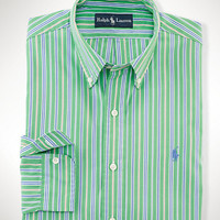 Custom-Fit Multi-Striped Shirt