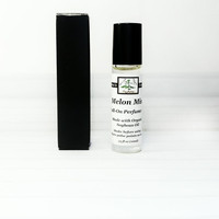 Organic Perfume Oil. Roll On Perfume. Melon Scented Fragrance for Women.