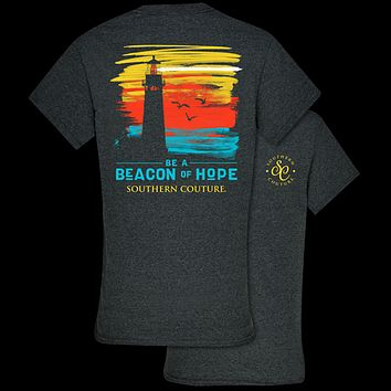 Southern Couture Classic Collection Beacon of Hope Lighthouse T-Shirt