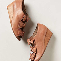 Anthropologie - Tiered Bow Wedges