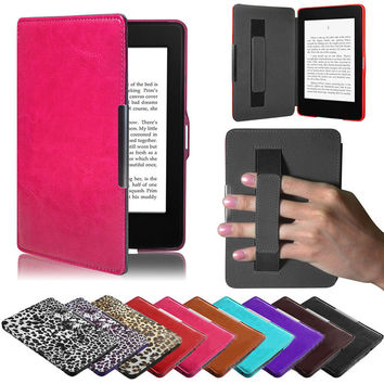Premiu Ultra Slim Pu Leather  Smart Case Cover For New Amazon Kindle Paperwhite 5 Suppion