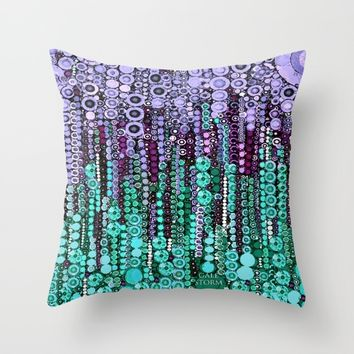 :: Lavendar Sleep :: Throw Pillow by :: GaleStorm Artworks ::