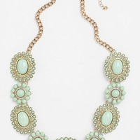 BP. Floral Statement Necklace (Juniors) | Nordstrom