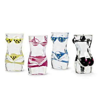Bikini Shot Glasses (Set of 4)