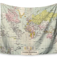 Travel by Catherine Holcombe Wall Tapestry
