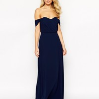 Jarlo Florance Off Shoulder Maxi Dress