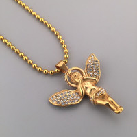Stylish Jewelry Gift Shiny New Arrival Hot Sale Fashion Hip-hop Club Necklace [6542784451]