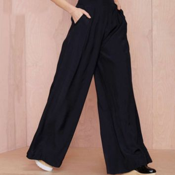 Cold wind ins super wide leg trousers
