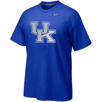 Nike Kentucky Wildcats Gradient T-Shirt - Royal Blue