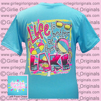 Lake (Short Sleeve) : Girlie Girl™ Originals - Great T-Shirts for Girlie Girls!