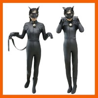 MIRACULOUS LADYBUG JUMPSUITE ADRIEN AGRESTE BLACK CAT NOIR CAT SUIT COSPLAY COSTUME HALLOWEEN FANCY   CLOTHES
