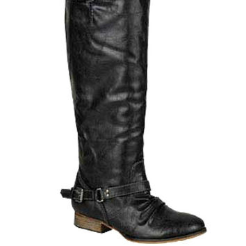 Cheyenne Riding Boots - Black