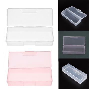 2017 Nail Supplies Tools Storage Box Can Be Mounted Push Sand Bars Transparent Materail For Making Your Things Bright &tidy
