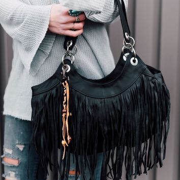 Texan Time Fringe Handbag