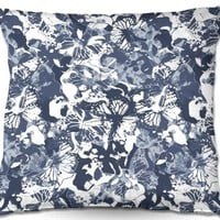 Throw Pillows By Julia Grifol Blue Butterflies II